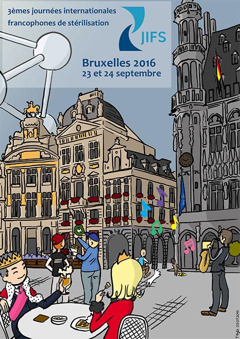 3èmes JIFS, Bruxelles, 2016