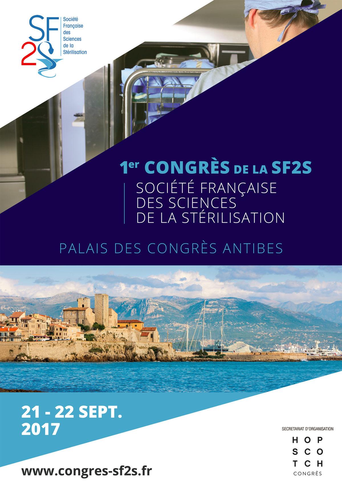 1er Congrès de la SF2S, Antibes, 2017