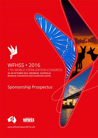 WFHSS – 17ème Congrès Mondial de la Stérilisation, Brisbane, 2016
