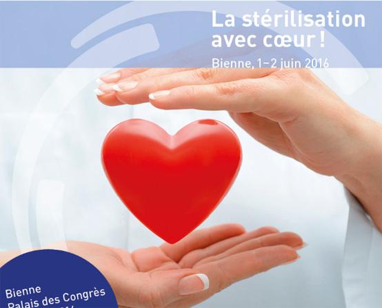 12èmes Journées Nationales Suisses de la Stérilisation, Bienne, 2016