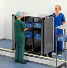 Transport de matériel stérile